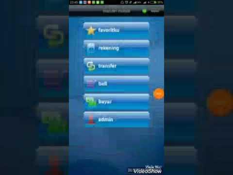 Tutorial Top Up Paytren Via Mandiri Mobile Banking Youtube