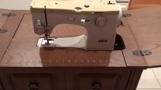 Elna TSP 72c Sewing Machine Table Assembly Free Arm Cabinet