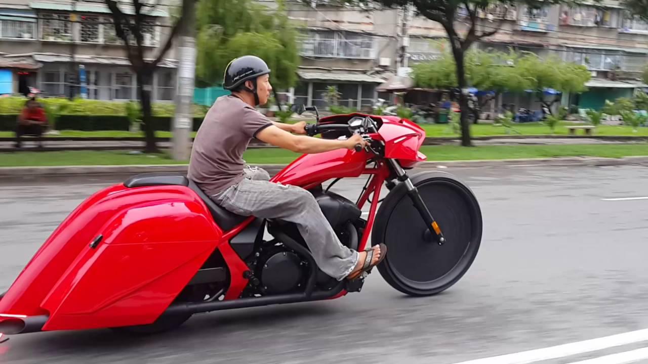 Honda Fury Bagger By Std Garage Youtube