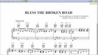 Bless The Broken Road - Piano Sheet Music