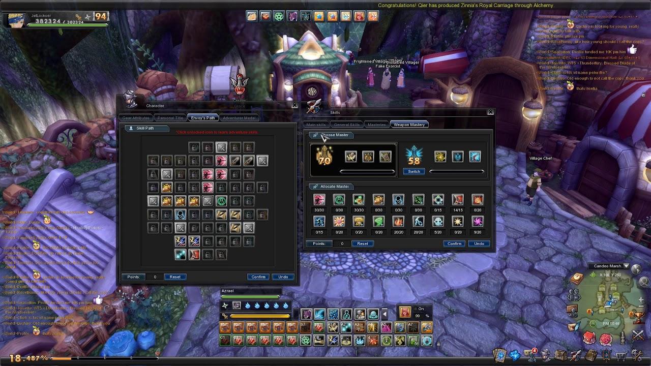 Ronin skill points :: Aura Kingdom General Discussions
