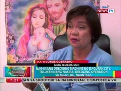 BP: Nagiisang dredging machine ng   Dagupan City, tuluyan nang nasira