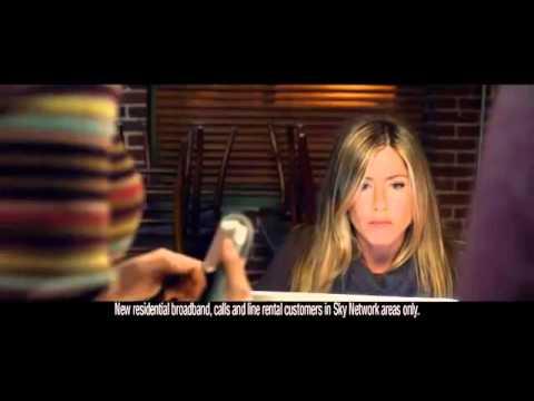 2012: Jennifer Aniston in Sky Broadband video - Sky Switch Squad.mp4