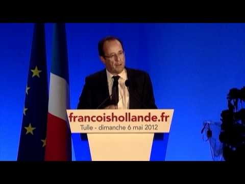Hollande wins French presidential election