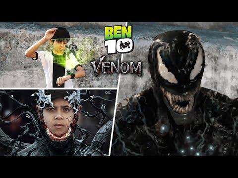 Ben 10 Transforming Into Venom | A Short Film VFX Test