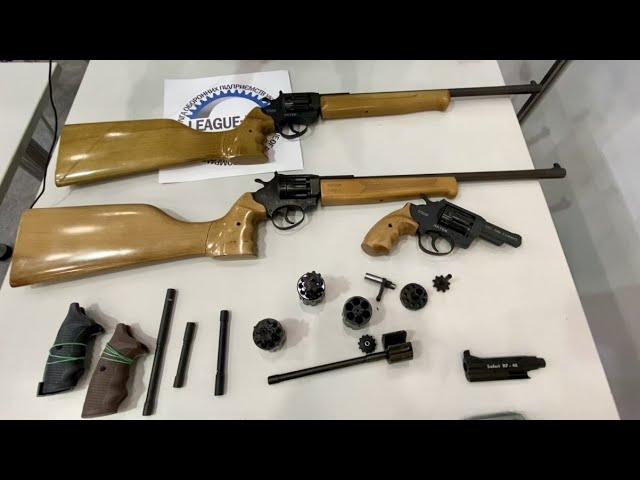 """Револьверы и травматы Латэк. Выставка """"Зброя та Безпека 2021"""""""