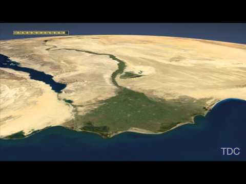 Timelapse View of the Nile Delta from Space