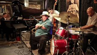 """Joey """"G-Clef"""" Cavaseno Quartet- Blues for a New Day (Live @ Smalls)"""