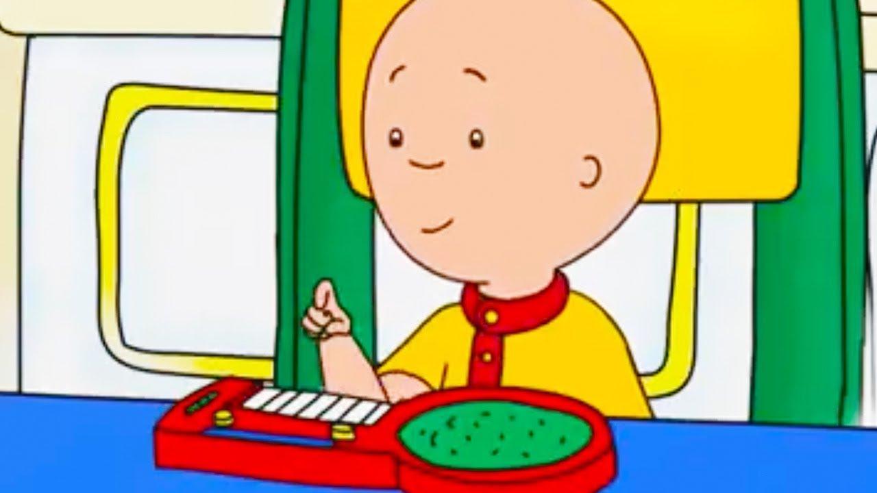 Caillou en fran ais caillou et la musique conte pour enfant dessin anime caillou en - Dessin caillou ...