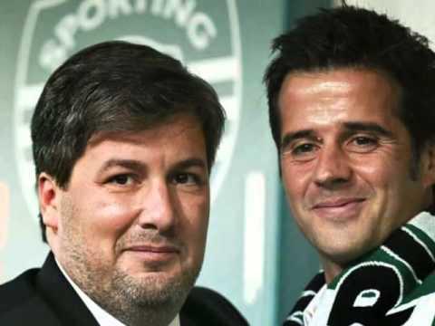 Apresentação de Marco Silva como novo treinador do Sporting Clube de Portugal