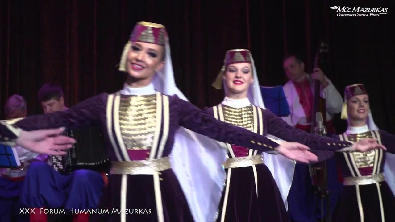 """XXX FORUM HUMANUM MAZURKAS -Narodowy Chór Ukrainy im. """"G.G.Wierowki""""-Krymsko-tatarski taniec"""