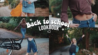 BACK TO SCHOOL LOOKBOOK | 5 outfits for school!