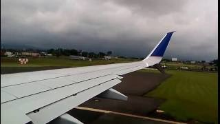 United airlines Costa Rica take off