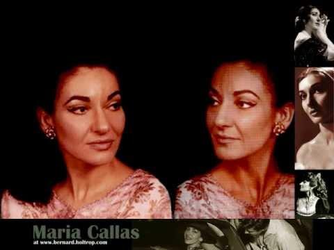 Maria Callas. In quelle trine morbide. Manon Lescaut. Giacomo Puccini.