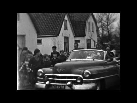 Sinterklaas intocht Tuin  en Oostdorp Bergen  - 1963  - Koos Koet sr.
