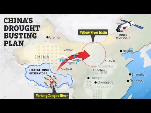 China's Mind-Blowing Weather Modification, Geoengineering, & ELF Transmitter Projects!