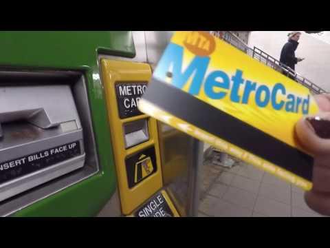 Metrocard In NewYork Kaufen Für 7 Tage Auf Deutsch