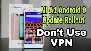 Xiaomi mi a1 pie 9.0 official update Gcam Install   Mi A1 Google Camera night