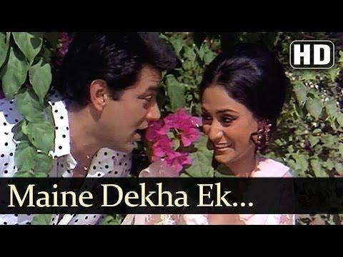 Maine Dekha Ek Sapna - Samadhi Songs - Dharmendra - Jaya Bhaduri  - Lata Mangeshkar - Kishore Kumar