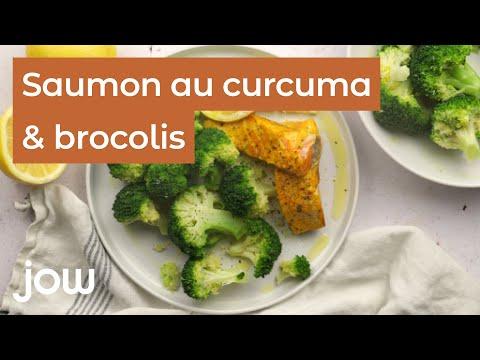 recette-du-saumon-au-curcuma-&-brocoli