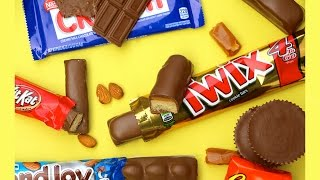 DIY CANDY BARS - Twix, Reese