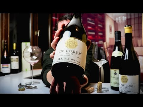 M. Chapoutier Ermitage De l'Orée Blanc   Rhône White Wine Review - click image for video