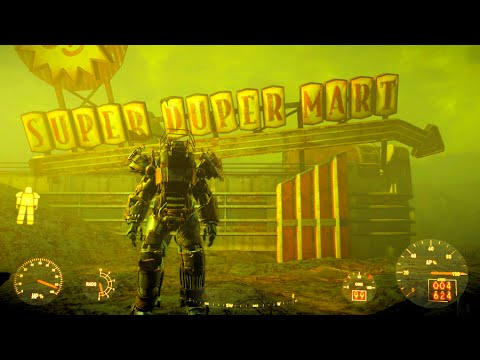 Not fallout3 super duper mart power fist all became