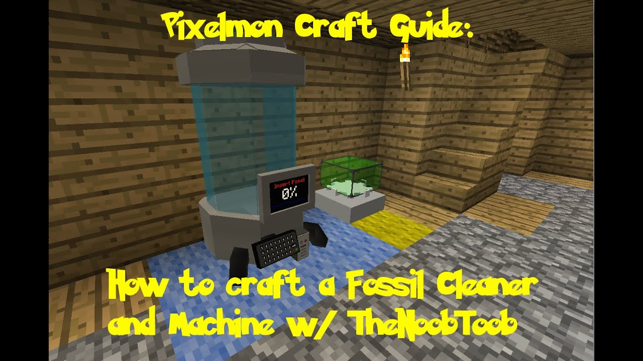 How To Craft A Fossil Cleaner