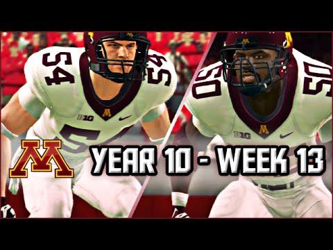 NCAA Football 14 Dynasty Season 10 - Week 13 @ #4 Nebraska