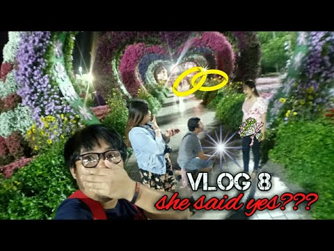 MARRIAGE PROPOSAL @MIRACLE GARDEN DUBAI | Markie de Paz Vlogs