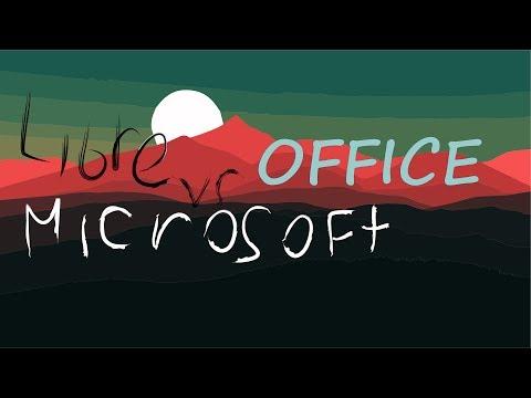 Libre Office Vs Microsoft Office
