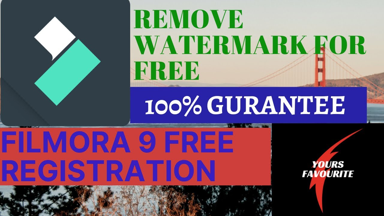 Filmora9 Free Registration 2020 | Remove Watermark | Wondershare Filmora License Keys | Yours Favrt