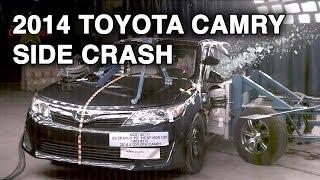 2014 Toyota Camry | Side Crash Test | CrashNet1