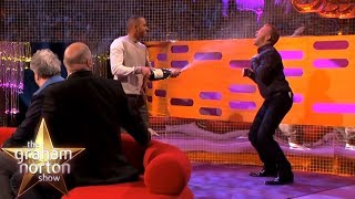 Lewis Hamilton Sprays Champagne Onto Graham Norton | The Graham Norton Show