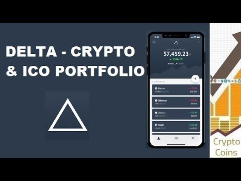 Delta -  Bitcoin, ICO & Cryptocurrency Portfolio Tracking Application Review