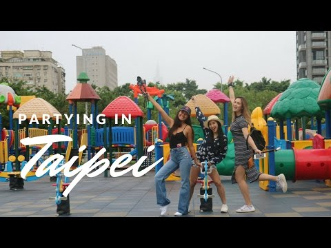 Food trip and Partying in Taipei