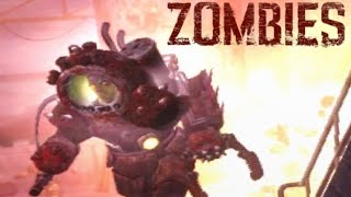PANZER CRAWLER! THIS IS POSSIBLE? Call of Duty Zombies OIL RIG Moment