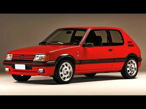 Vloermat 205 Gti.Peugeot 205 Gti 1900 Model Year 1989