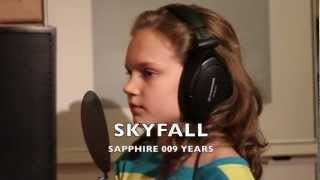 """SKYFALL"" - ""ADELE"" by Sapphire Singing 9 years from the James Bond Movie 007 BRIT OSCARS AWARDS"