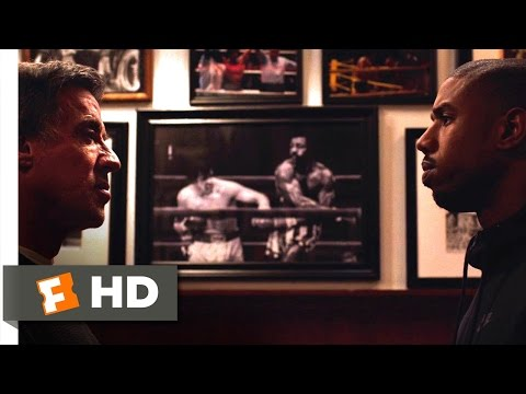 Creed - Rocky Meets Adonis Scene (2/11) | Movieclips