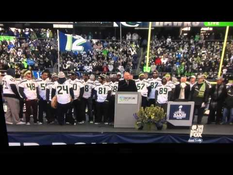 Seahawks Rally - Walter Jones + Steve Raible (2.05.14)