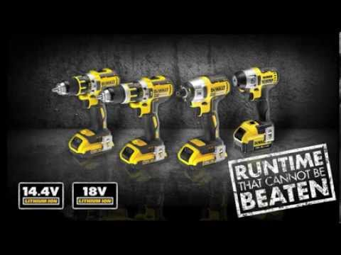 New DEWALT XR BRUSHLESS Compact Drills & Impact Drivers