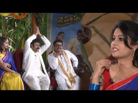 Jai Simha team super funny Sankranthi special interview || #Balakrishna || #JaiSimha