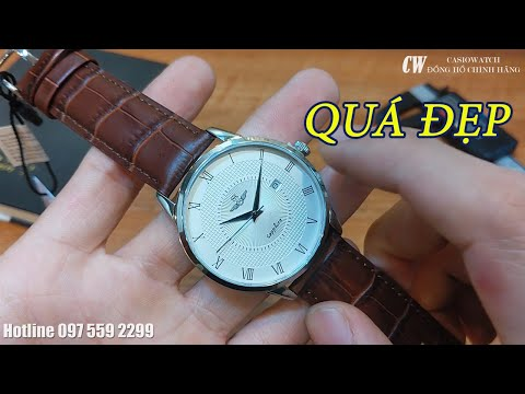 Đồng hồ SRWATCH SG1054.4102TE mặt kính Sapphire chống trầy chống nước lịch lãm trẻ trung thanh lịch
