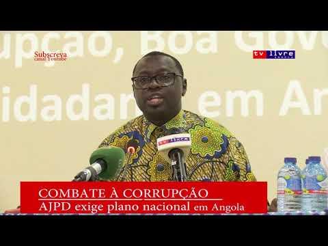 AJPD exige criação de plano nacional contra a corrupção em Angola e Moçambique