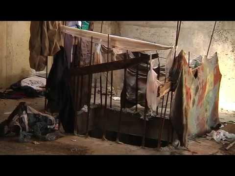 Un indigente de Vigo cuenta su forma de vida horas antes de morir