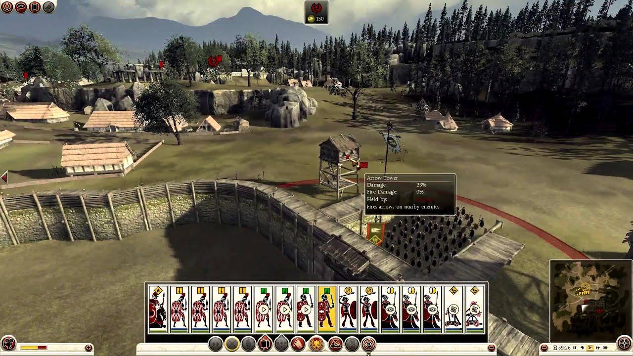 rome total war fire arrows