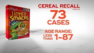 Coast-to-coast salmonella outbreak linked to breakfast cereal