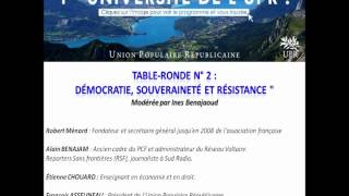 UPR 2012 - TR n° 2: Démocratie Souveraineté Résistance Benajam - Chouard - Ménard - Despot