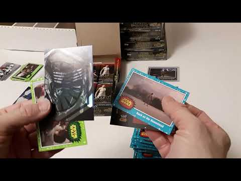 2019 Topps Star Wars Journey To The Rise Of Skywalker Hobby Box Opening Youtube